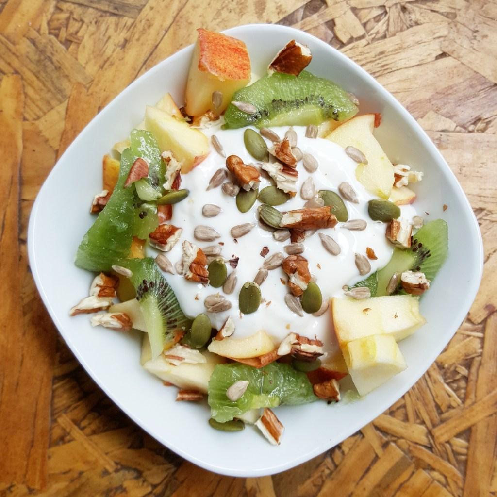 Fruit & Nut Yoghurt; Delalicious