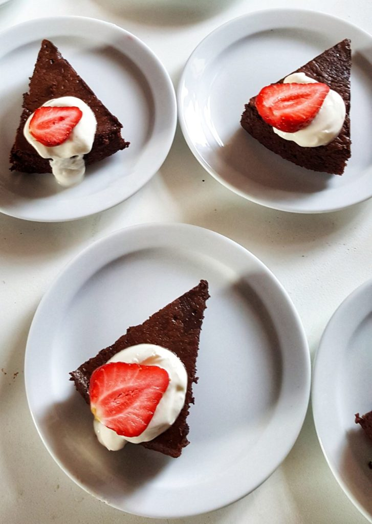 Chocolate Almond Cake; Delalicious