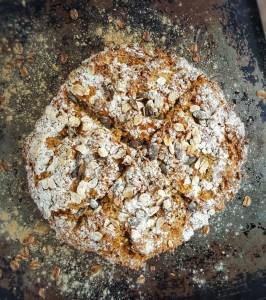 Pumpkin Seed Soda Bread; Delalicious