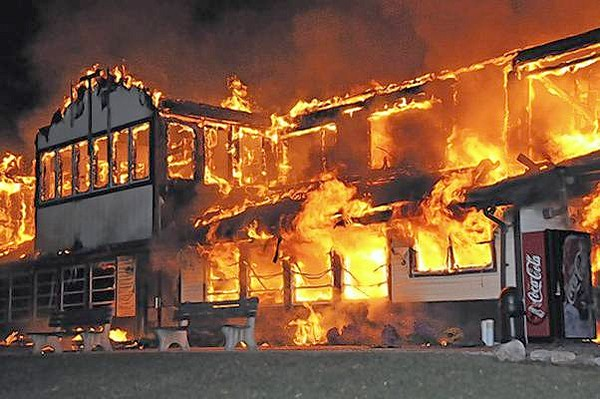 SCHUYLKILL COUNTY CHURCH FIRE
