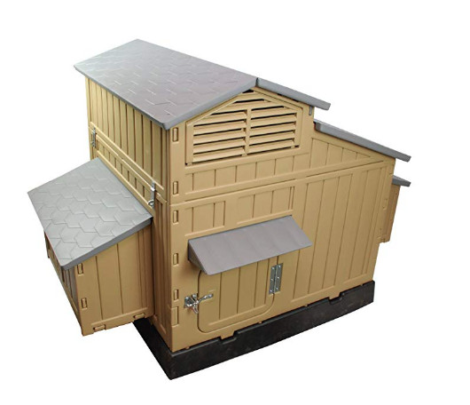 SnapLock Formex Large Chicken Coop Backyard