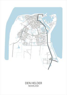 Stadsposter Den Helder