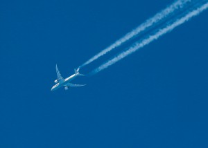 ANA with chemtrail