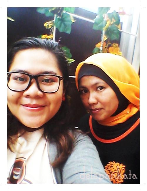 Selfie sama Mbak Dewi :3