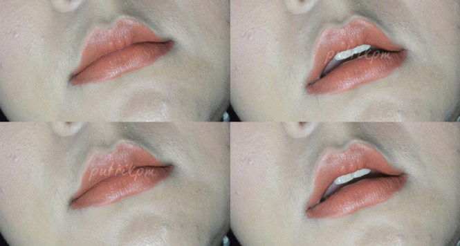 Wardah Longlasting Swatches To Lips - Delapankata