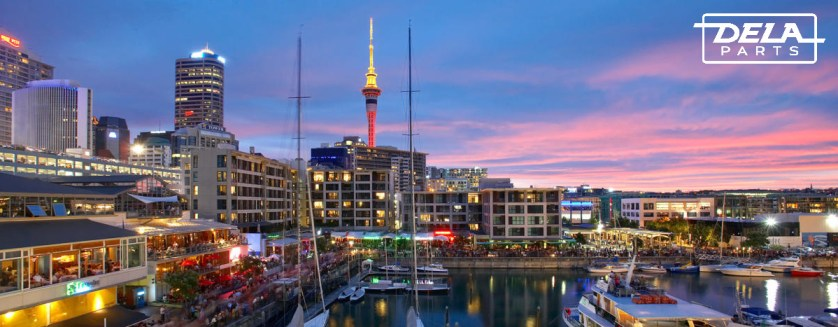 NZ Water front view