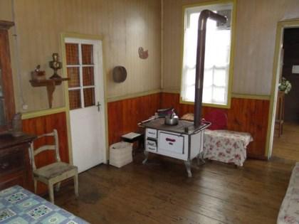 Típica casa chonchina de principios del S.XX