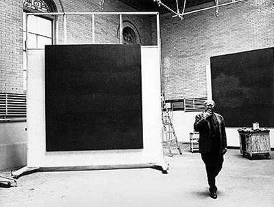 Rothko dans atelier à New York 1964