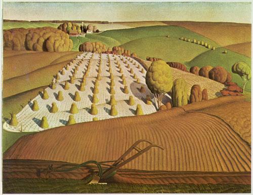 Fall plowing 1931