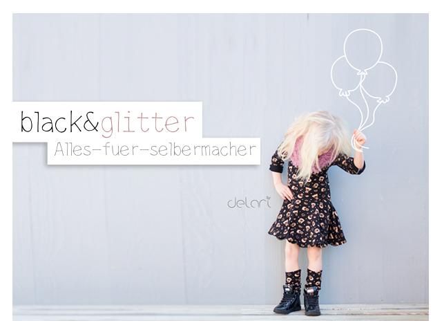 black&glitter