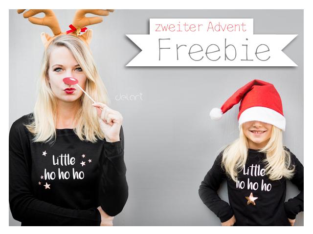 Adventsfreebie – little ho ho ho – Plotterdatei