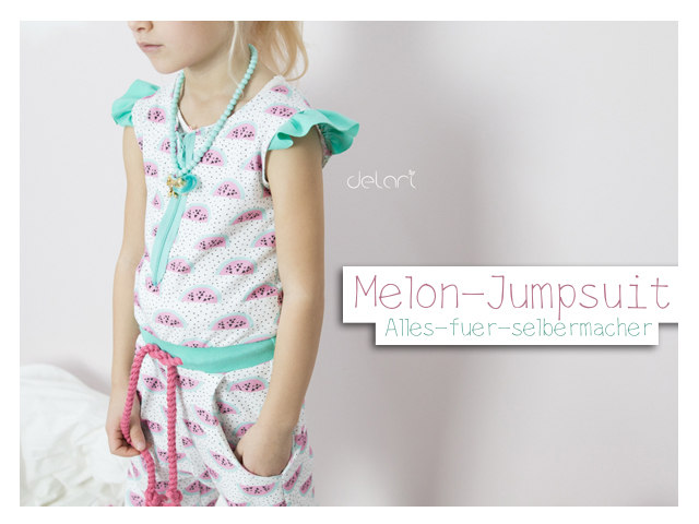 Melon-Jumpsuit