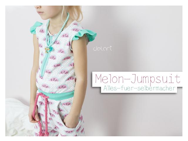 Melon-Jumpsuit