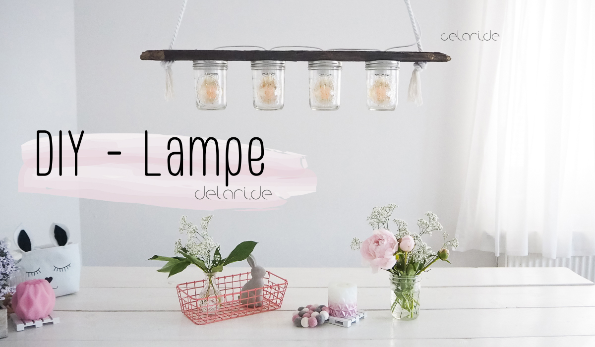 diy lampe esstisch delari. Black Bedroom Furniture Sets. Home Design Ideas