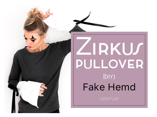 DIY Pullover mit riesen Ärmel