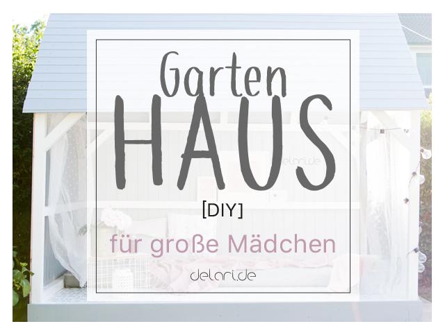 DIY Gartenhaus für große Mädchen // Spielhaus für Kinder