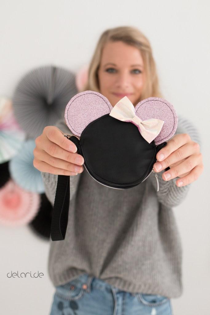 Disney Micky Maus Tasche nähen Burdastyle delari