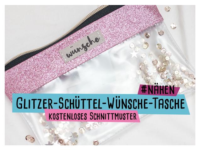 Glitzer-Wünsche-Schüttel-Tasche mit Video