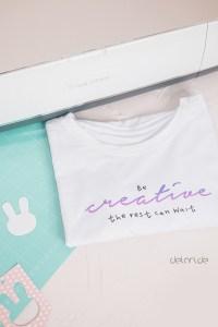 Cricut Maker im Test be creative Plotterdatei für Tshirt