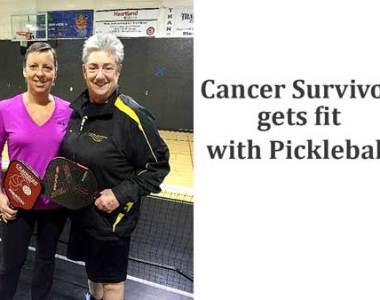 Cancer Survivor Gets Fit with Pickleball
