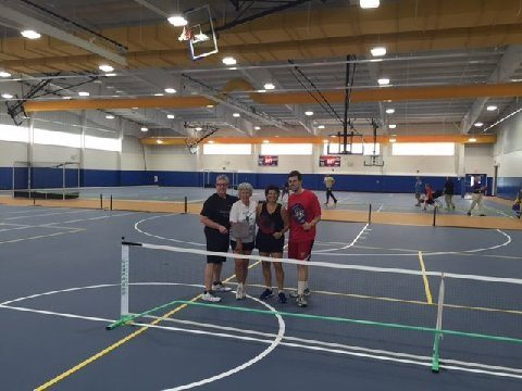Kent County Recreation Center/Kent County Levy Court 1683 New Burton Road, Dover DE! This Newly built Facility has 30,000 square feet of play area! Easily accommodating 14 Pickleball Courts!
