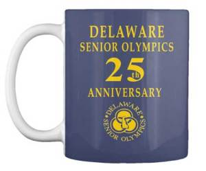 Senior Olympics Commemorative mugs