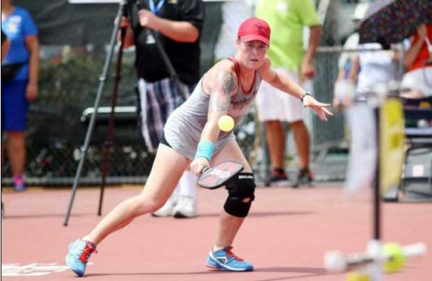 Sarah Ansboury Pickleball Professional