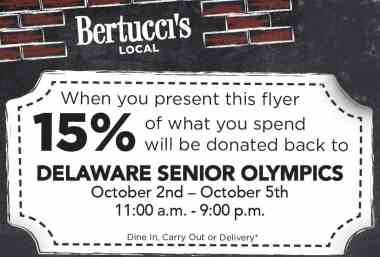 Support DSO Just by Eating! Bertucci's Fundraiser