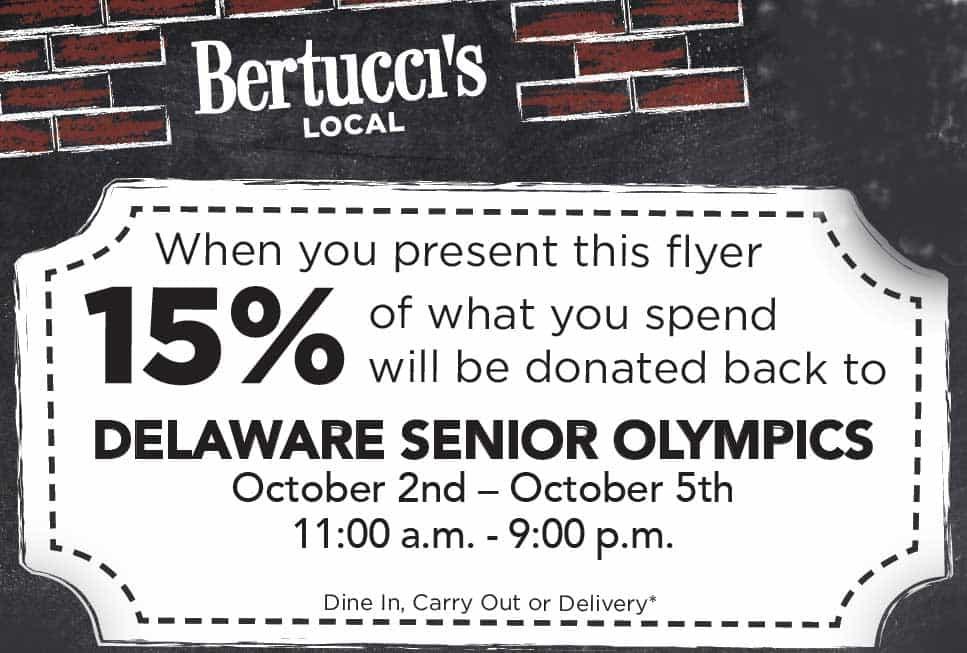 Bertucci's - Delaware Senior Olympics