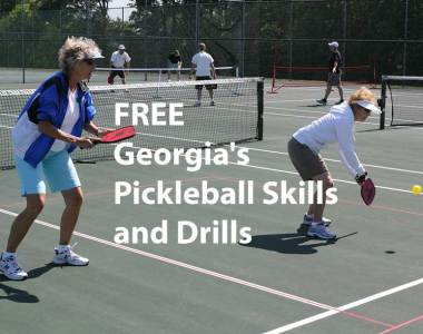 FREE Georgia's Pickleball Skills and Drills