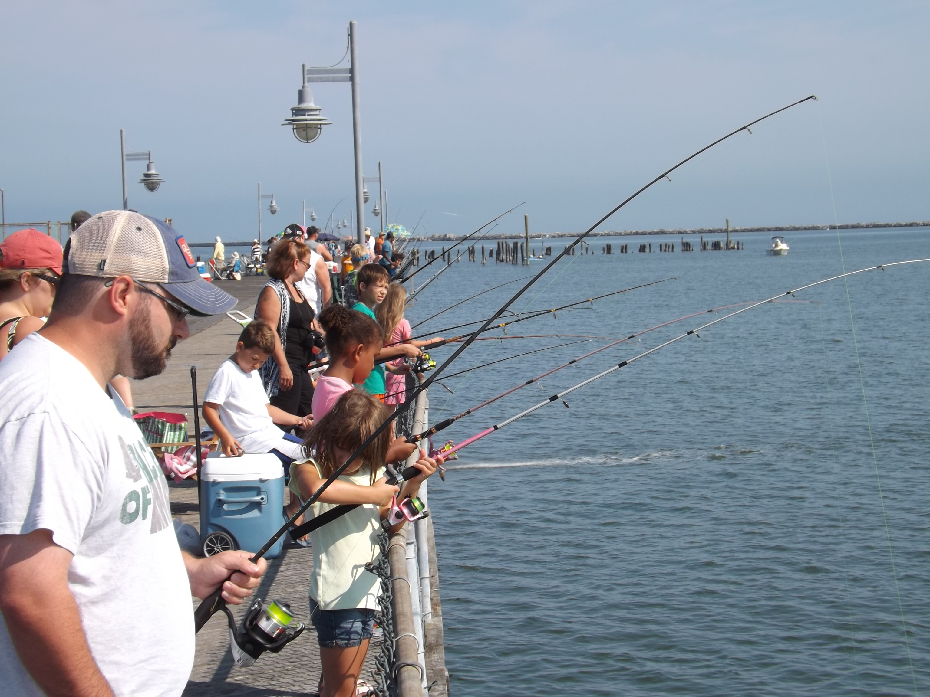 Third annual kids catch all fishing tournament at the indian river kids fishing cape henlopen state park fishing pier delaware sussex county lewes nvjuhfo Choice Image