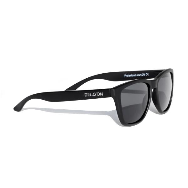 Delayon Eyewear Venture Sunglass all Black