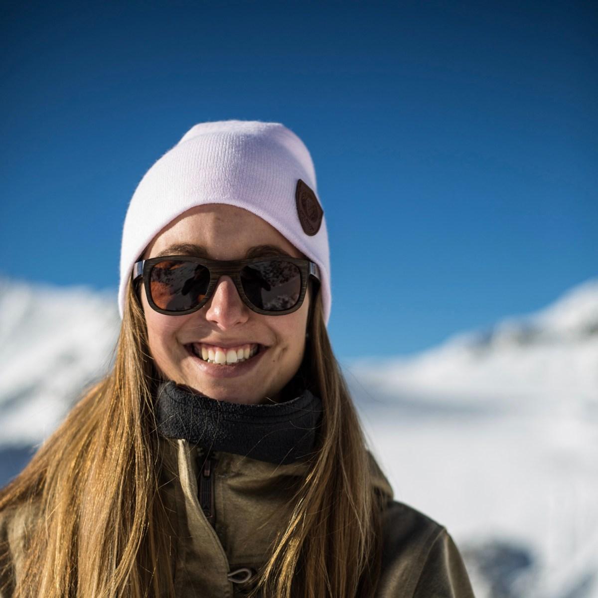 Delayon Eyewear Slouch Beanie Mütze Ski Brille