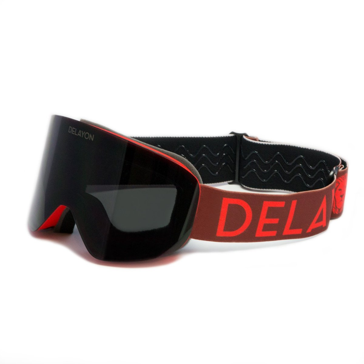 Delayon Eyewear Core 2in1 Goggle Bordeaux Red