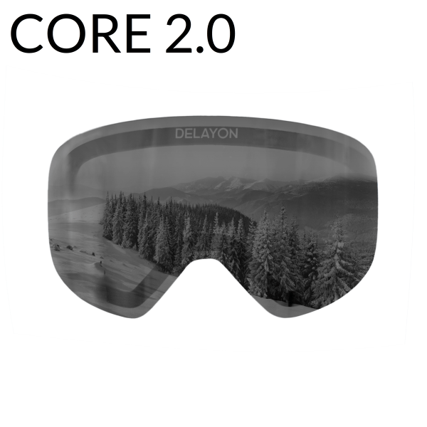 DELAYON Eyewear CORE2.0 Lens STRONG Black