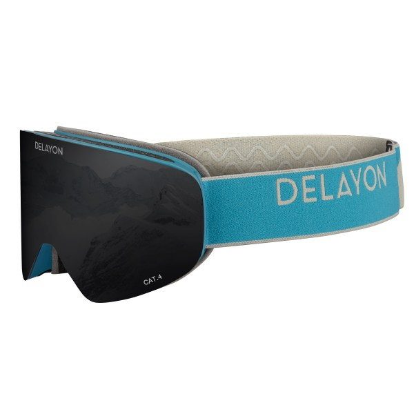 DELAYON Eyewear CORE 2.0 Navy Gray STRONG Black