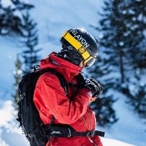 DELAYON Eyewear Explorer Goggle Hornet Yellow Nicolas Metz Chris Riefenberg
