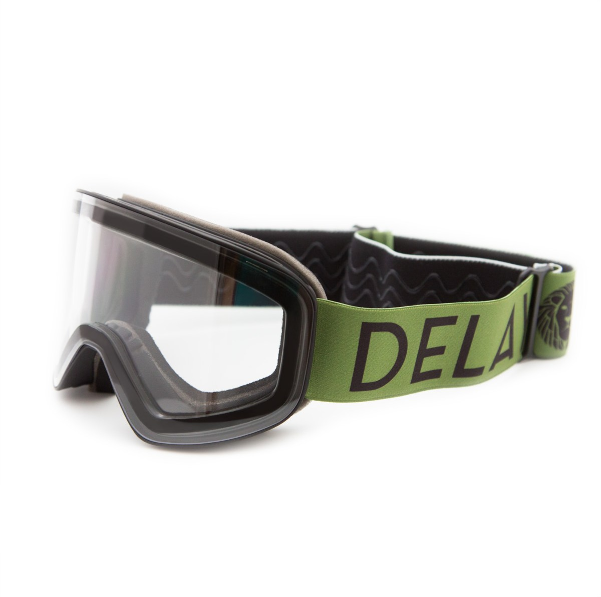 DELAYON Eyewear CORE 2.0 Goggle STRONG Clear Army Green