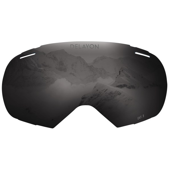 DELAYON Eyewear Puzzle Goggle STRONG Black Lens