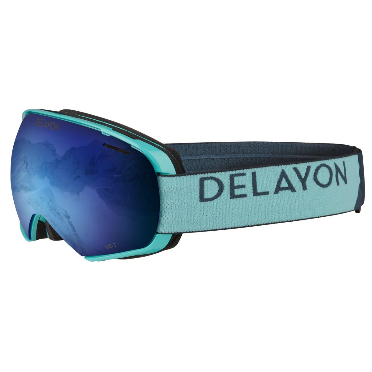 DELAYON Eyewear Puzzle Goggle Turquise Space Blue