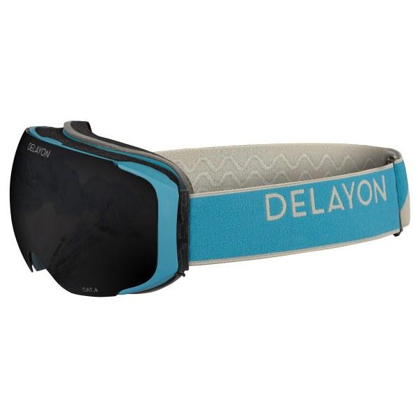 Delayon Eyewear Explorer Goggle Navy Gray