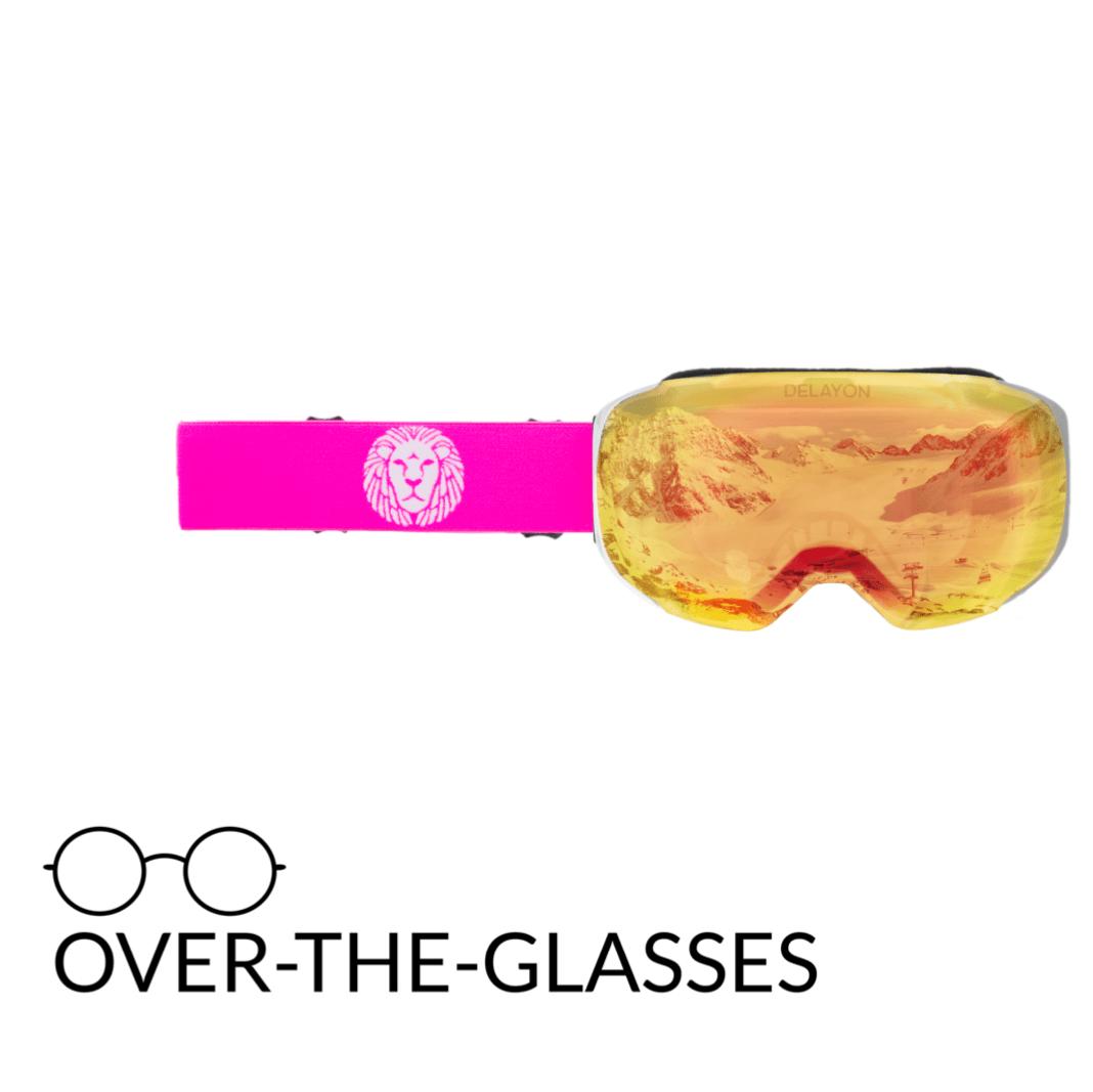 DELAYON Eyewear Explorer OTG White/Pink Space Fire