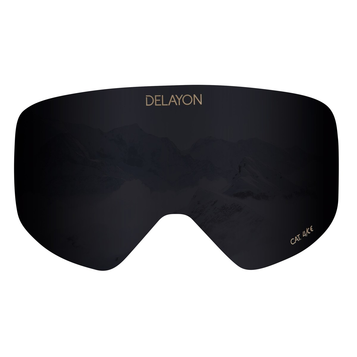 DELAYON Eyewear Core 2.0 Lens STRONG Black
