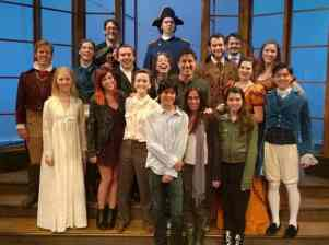 Arcadia's cast and del Barco's family!