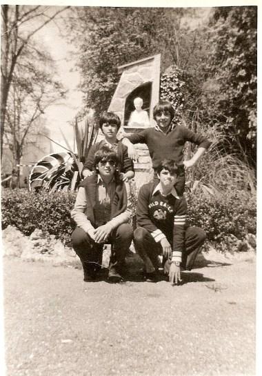 14 de mayo de 1978 Cervantes, Mendía, José Mª Domínguez y Jaime Viñas