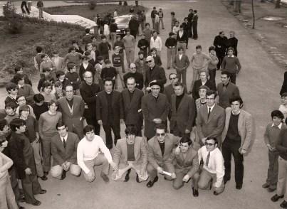 28 de marzo de 1974 Visita de don Ricceri