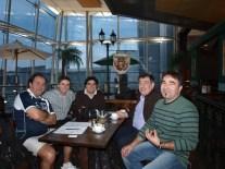 Yécora, Diego, Jaime, Josepe y Tomás