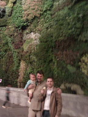 2012 Ion, su hija y Diego