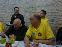 Jesús, Aurelio, Mikel y Diego