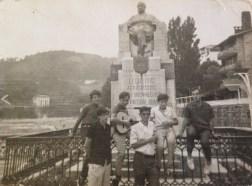 1970 Excursión a Lequetio. Llanos, Lete, ...